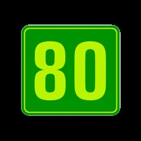 Huisnummerbord Alupanel 119x109 - Reflecterende opdruk: Huisnummerbord Alupanel 119x109 met print van tekst / pictogrammen in reflectieklasse 3 (incl. anti-graffiti laminaat). Basis: Groen - Gl-Gr-Fluor (Rand: Fluor geel/groen) Tekstvlak: 80. - Product eigenschappen: Ontwerpcode: fe59e5Afmetingen: 119x109mmReflecterend: Klasse 3 [ maximaal ]Incl. anti-graffiti laminaat