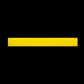 Balustrade Ligger 1200mm lang hek, veiligheid, afscheiding, bescherming, aanrijbeveiliging, aanrijdbeveiliging