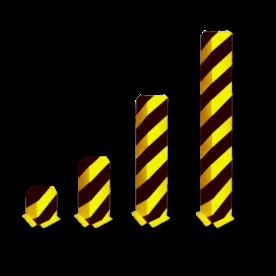 Aanrijdbeveiliging, Hoekprofiel 160x160x5mm Aanrijdbeveiliging, Aanrijdbeugel, Beugel, Aanrijding, Beveiliging, Ram, Rambeugel, Aanrijdbescherming, Vangrail