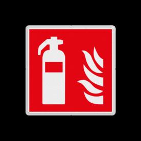 Product F001 - Blusapparaat - F001 Brand bord F001 - Blusapparaat Brand, trap, locatie, vuur, blussen, vluchten, brandblusapparaat, blusmiddel, Blusapparaatpicto, Brandbestrijdingsteken, brandbestrijdingspicto