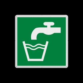 Reddingsbord E015 - Drinkbaar water Reddingsbord E015 - Drinkbaar water Water, drinken, kraanwater, schoon water,, vluchtroutebord, reddingsmiddelbord, vluchtroutebord, reddingsmiddelbord, evacuatie, evacuatiebord, veiligheidspictogram, veiligheidsbord, Nooduitgang pictogrammen, Vluchtrouteaanduiding, Verzamelplaats pictogram, Reddingspictogram, nooduitgang symbool, teken, icoon, symbolen, reddingsborden, bhv bord