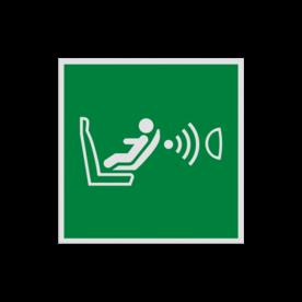Product Detectiesysteem voor kinderstoeltje Pictogram E014 - Detectiesysteem voor kinderstoeltje E014 Kinderstoel, detectie, stoeltje, airbag, vluchtroutebord, reddingsmiddelbord, evacuatie, evacuatiebord, veiligheidspictogram, veiligheidsbord, Nooduitgang pictogrammen, Vluchtrouteaanduiding, Verzamelplaats pictogram, Reddingspictogram, nooduitgang symbool, teken, icoon, symbolen, reddingsborden, bhv bord