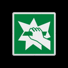 Reddingsbord E008 - Glas breken om deur te openen Reddingsbord E008 - Glas breken om deur te openen Glas breken, paneel kapot slaan, beschermingsglas breken, vluchtroutebord, reddingsmiddelbord, evacuatie, evacuatiebord, veiligheidspictogram, veiligheidsbord, Nooduitgang pictogrammen, Vluchtrouteaanduiding, Verzamelplaats pictogram, Reddingspictogram, nooduitgang symbool, teken, icoon, symbolen, reddingsborden, bhv bord