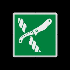 Reddingsbord E035 - Mes voor reddingsvlot Reddingsbord E035 - Mes voor reddingsvlot Mes, vlot, redding, schip, vluchtroutebord, reddingsmiddelbord, vluchtroutebord, reddingsmiddelbord, evacuatie, evacuatiebord, veiligheidspictogram, veiligheidsbord, Nooduitgang pictogrammen, Vluchtrouteaanduiding, Verzamelplaats pictogram, Reddingspictogram, nooduitgang symbool, teken, icoon, symbolen, reddingsborden, bhv bord