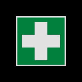 Product EHBO middelen Pictogram E003 - EHBO middelen E003 Hulp kruis, EHBO, help, eerste hulp, noodhulp, vluchtroutebord, reddingsmiddelbord, evacuatie, evacuatiebord, veiligheidspictogram, veiligheidsbord, Nooduitgang pictogrammen, Vluchtrouteaanduiding, Verzamelplaats pictogram, Reddingspictogram, nooduitgang symbool, teken, icoon, symbolen, reddingsborden, bhv bord