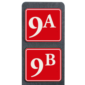 Huisnummerpaal met BORD Klassiek - Dubbel - klasse 3 buitengebied, huisnummer, nummer, huis, buiten, gebied, paal, Klassiek, huisnummerbord, Dubbel, Huisnummerpaal, Huisnummerpalen