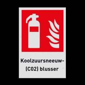 Product F001 - Blusapparaat Pictogram F001 - Koolzuursneeuw(C02)blusser Brand, trap, locatie, vuur, blussen, vluchten, brandblusapparaat, blusmiddel, Blusapparaatpicto, Brandbestrijdingsteken, brandbestrijdingspicto, poederblusser, schuimblusser, Koolzuursneeuwblusser, CO2 blusser