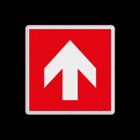 Product F000 - richting brandbestrijdingsmiddel Brand bord F000 - voor richting brandbestrijdingsmiddel Brand, trap, locatie, vuur, blussen, vluchten, brandkraan, bluswaterput, brandput, Brandbestrijdingsteken, brandbestrijdingspicto