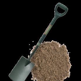 Plaatsing in losse teelaarde - op eigen terrein plaatsen verkeersbord, parkeerpaal monteren, in de grond plaasten, graven, wegwerker,