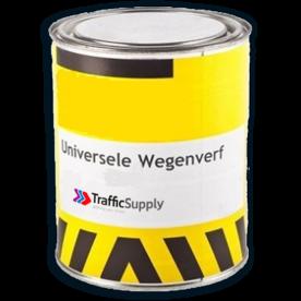 Universele Wegenverf  2,5l - Wit / Geel lijnen trekken, parkeervak markeren, wegenverf