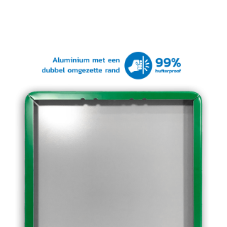 Verkeersbord 300x450mm videobewaking - VT461 + eigen tekst