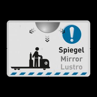 Veiligheid- informatiebord rechthoek in huisstijl