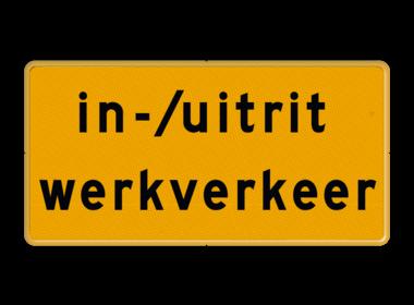 Tekst borden (WIU)