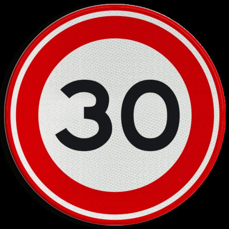 Verkeersbord A1 30 Snelheidsborden Kopen? Bestel nu online!