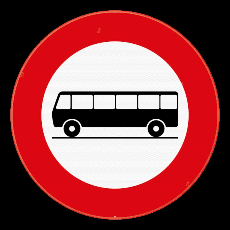 verkeersbord sb250 c22 verboden toegang voor bestuurders