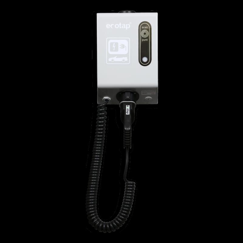 Oplaadpaal 3 7 Kw Voor Elektrische Auto Door Middel Van Laadpas Met
