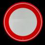Verkeersbord C01 - Gesloten voor alle verkeer