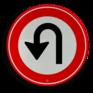 Verkeersbord F07 - Keerverbod