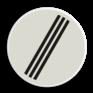 Verkeersbord F08 - Einde alle verboden