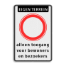 Verkeersbord C01 -