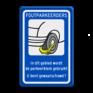 Verkeersbord OV0412 -