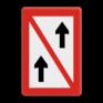 Scheepvaartbord A. 2 - Voorbijlopen verboden