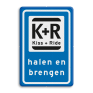 Verkeersbord L52 - Kiss and ride