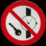 Veiligheidsbord P008 - Metalen voorwerpen zoals horloges verboden