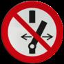 Veiligheidsbord P031 - Niet schakelen