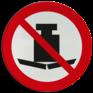 Veiligheidsbord P012 - Zwaar gewicht verboden