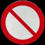 Veiligheidsbord P001 - Algemeen verbod