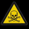 Veiligheidsbord W016 - Gevaar voor giftige stoffen