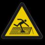 Veiligheidsbord W036 - Gevaar voor zacht, breekbaar dak