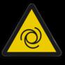 Veiligheidsbord W018 - Gevaar voor automatisch startende machines