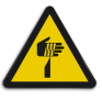 Veiligheidsbord W022 - Gevaar voor snijden