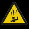 Veiligheidsbord W039 - Gevaar voor vallend ijs