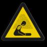 Veiligheidsbord W041 - Gevaar voor verstikkende atmosfeer