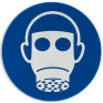 Veiligheidsbord M017 - Ademhalingsbescherming verplicht