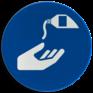 Veiligheidsbord M022 - Beschermende handcrème verplicht