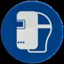 Veiligheidsbord M019 - Lasmasker verplicht
