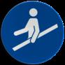 Veiligheidsbord M012 - Hand aan reling verplicht
