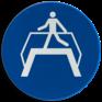 Veiligheidsbord M023 - Verplichte oversteekplaats