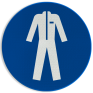Veiligheidsbord M010 - Beschermende werkkleding verplicht
