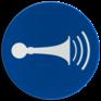 Veiligheidsbord M029 - Akoestisch geluidssignaal geven