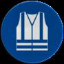 Veiligheidsbord M015 - Veiligheidsvest verplicht