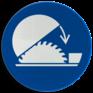 Veiligheidsbord M031 - Gebruik cirkelzaagbescherming