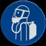 Veiligheidsbord M047 - Ademhalingsapparaat verplicht