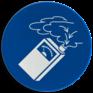 Veiligheidsbord M048 - Gasdetectie verplicht