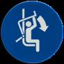 Veiligheidsbord M033 - Sluit de veiligheidsbeugel