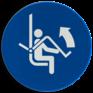 Veiligheidsbord M034 - Open de veiligheidsbeugel